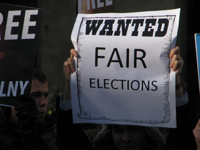 WANTED Fair Elections