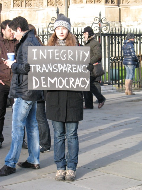 Integrety transparency democracy